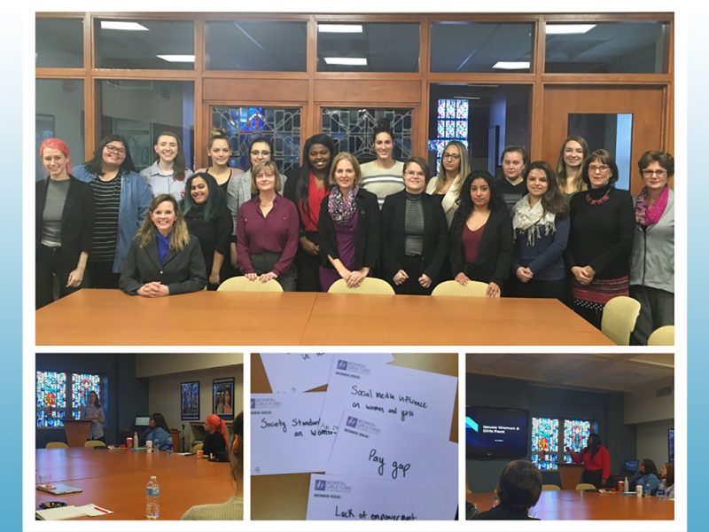 Alverno's Women and Leadership class
