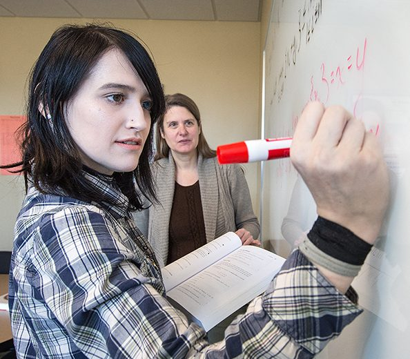Alverno students like Lexi can pursue two degrees on an abbreviated timeline.